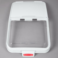 Rubbermaid FG9F7900CLR Replacement Sliding Lid with Scoop Hook for Rubbermaid FG360388WHT