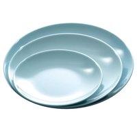 Blue Jade 7 1/8 inch Round Melamine Plate - 12 / Pack