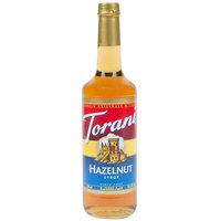 Torani 750 mL Hazelnut Flavoring Syrup