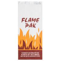 Bagcraft Papercon 300481 Foil BBQ Bag Qt. Size with 'Flame Pak' Design - 1000/Case