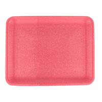 CKF 88066 (#34/4S) Rose Foam Meat Tray 9 1/4 inch x 7 1/4 inch x 1/2 inch - 500/Case