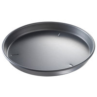 Chicago Metallic 91155 15 inch x 1 1/2 inch BAKALON Pre-Seasoned Aluminum Customizable Deep Dish Pizza Pan