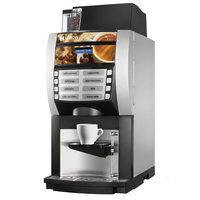 Grindmaster 66101 Korinto 1/2 Super Automatic Espresso Machine with One Bean Hopper and Two Soluble Hoppers