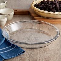 Anchor Hocking 82638AHG17 9 inch x 1 1/4 inch Glass Pie Pan