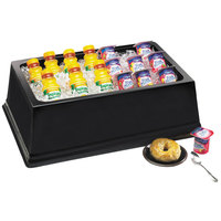 Cal-Mil 463-12-13 Black ABS Full Size Insulated Ice Housing - 20 inch x 12 inch x 6 inch