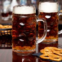 Stolzle 04533 / 708067 Oktoberfest Assorted Specialty 17.5 oz. Beer Mug - 6/Case