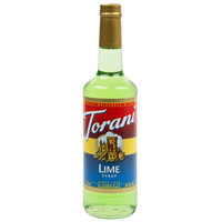 Torani 750 mL Lime Flavoring / Fruit Syrup