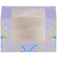 Easter Egg Box 3 lb. Window Candy Box 7 inch x 5 1/16 inch x 4 1/2 inch - 250/Case
