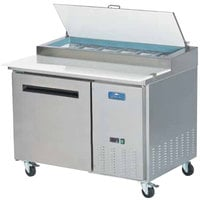 Arctic Air APP48R 48 inch One Door Pizza Prep Refrigerator Table