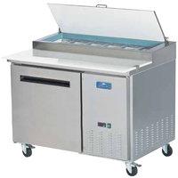 Arctic Air APP48R 48 inch One Door Pizza Prep Refrigerator Table