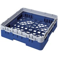 Cambro BR414168 Blue Camrack Full Size Open Base Rack with 1 Extender