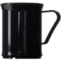 Cambro 96CW110 Camwear 9.6 oz. Black Polycarbonate Mug - 48/Case