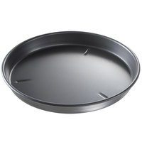 Chicago Metallic 91130 13 inch x 1 1/2 inch Deep Dish Hard Coat Anodized Aluminum Customizable Pizza Pan