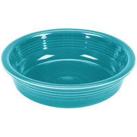 Homer Laughlin 461107 Fiesta Turquoise 19 oz. Medium Bowl - 12/Case