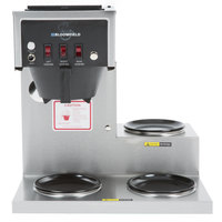 Bloomfield 4A-8573D3 Koffee King 3 Warmer Right Stepped Automatic Coffee Brewer - 120V