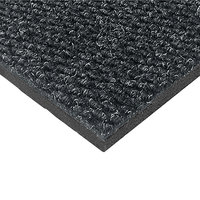 Cactus Mat 1082M-L46 Pinnacle 4' x 6' Vibrant Charcoal Upscale Anti-Fatigue Berber Carpet Mat - 1 inch Thick