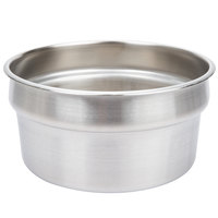 Vollrath 78194 Stainless Steel 7 1/4 Qt. Vegetable Inset