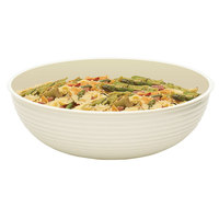 Cambro RSB12CW148 5.8 Qt. White Camwear Round Ribbed Bowl