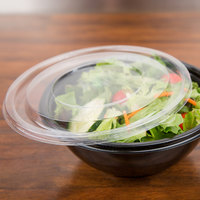 Sabert 51032T300 FreshPack Clear Flat Round Lid - 300/Case