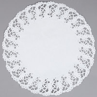 "Hoffmaster 500259 14 1/2"" Lace Doily - 1000/Case"