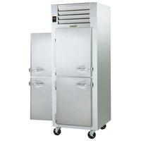 Traulsen G10005P 1 Section Solid Half Door Pass-Through Refrigerator - Left / Right Hinged Doors