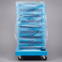 Carlisle RDC07 OptiClean 36 inch Clear Glass Rack Dust Cover