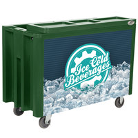 IRP Green Arctic 720 Mobile 288 Qt. Cooler with Casters