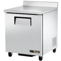 True TWT-27F-HC 27 inch Single Door Worktop Freezer