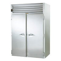 Traulsen RRI232LPUT-FHS 68 inch Stainless Steel Solid Door Roll-Thru Refrigerator
