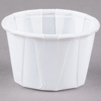 Dart Solo SCC100 1 oz. White Paper Souffle / Portion Cup   - 5000/Case