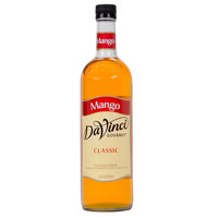 DaVinci Gourmet 750 mL Mango Classic Coffee Flavoring / Fruit Syrup