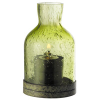Sterno Products 80136 4 1/2 inch Green Glass Lantern Table Lamp