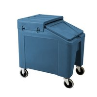 Blue Ice Caddy II 140 lb. Mobile Ice Bin / Beverage Merchandiser