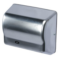 American Dryer GX1-SS GLOBAL Automatic Hand Dryer with Steel Satin Chrome Cover - 110/120V, 1500W