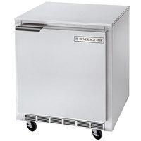 Beverage Air UCF27 27 inch Undercounter Freezer - 6.2 Cu. Ft.