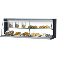 Turbo Air TOMD-30-HB 28 inch Top Dry Display Case for Turbo Air TOM-30SB Slim Line Open Display Case - Black