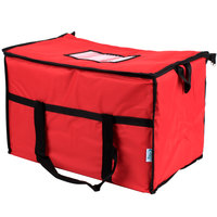 Choice Insulated Leak Proof Cooler Bag / Soft Cooler, Red Nylon