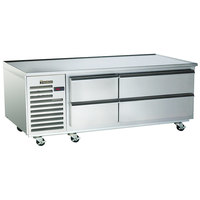 Traulsen TE065HT 4 Drawer 65 inch Refrigerated Chef Base - Specification Line