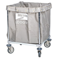 Metro Laundry Cart, Lodgix Houserunner Essentials Cart, 24 inch x 24 inch x 33 inch - LXHR-ESS
