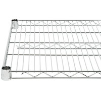 Regency 21 inch x 42 inch NSF Chrome Wire Shelf