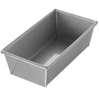 Chicago Metallic 40425 1 lb. Single Open Top Glazed Bread Pan - 8 1/2 inch x 4 1/2 inch x 2 3/4 inch