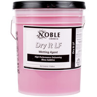 Noble Chemical 5 gallon / 640 oz. Dry It LF Low Foaming Rinse Aid