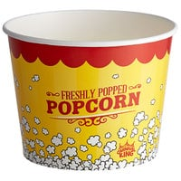 Carnival King 85 oz. Popcorn Bucket - 150/Case