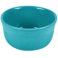 Homer Laughlin 723107 Fiesta Turquoise 24 oz. Gusto Bowl - 6 / Case