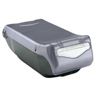 San Jamar H5004CL Mini Interfold Venue Countertop Napkin Dispenser - Clear