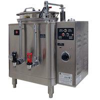 Grindmaster 7416E Single Midline 6 Gallon Fresh Water Coffee Urn - 120/208V