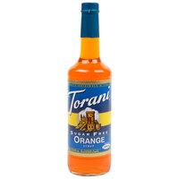 Torani 750 mL Sugar Free Orange Flavoring / Fruit Syrup