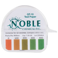 Noble Chemical QT-10 Quaternary Test Paper Dispenser - 0-400ppm