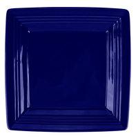 Tuxton CCH-0845 Concentrix 8 1/2 inch Cobalt Square China Plate   - 12/Case