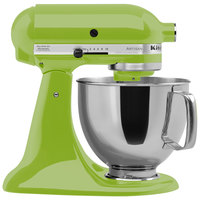 KitchenAid KSM150PSGA Green Apple Artisan Series 5 Qt. Countertop Mixer